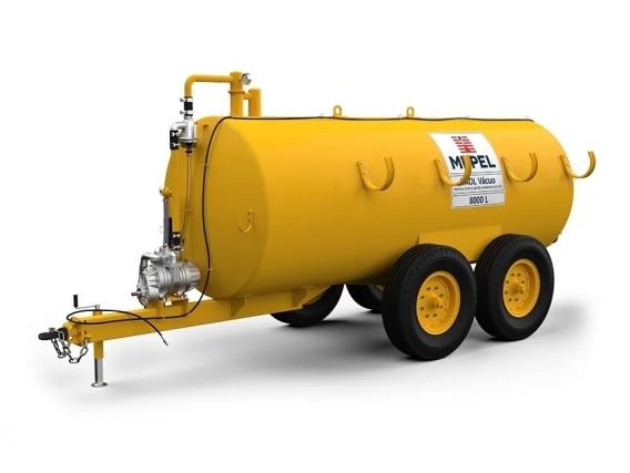 Distribuidor de fertilizantes orgánicos 8000 Vacuum Mepel