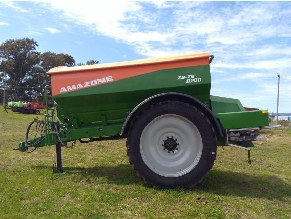 Fertilizadora Abonadora Sembradora Amazone Zg-Ts 8200