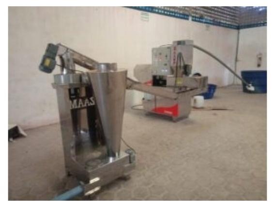 Máquina Extrusora De Aceite De Salvado Zaamp 2021