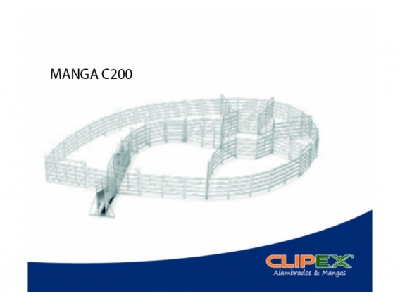 Manga Clipex Móvil C200