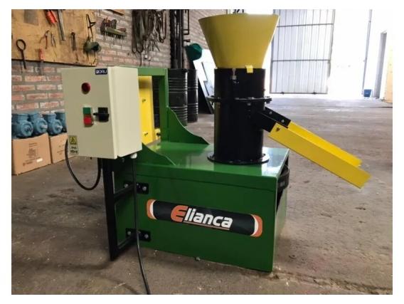 Pelletizadora Elianca 600 Kg/h Unidad
