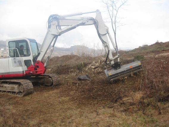 Triturador Forestal Fae Pml/Ex