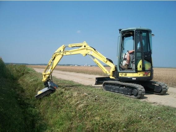 Triturador Forestal Fae Pml/Hy Para Excavadoras