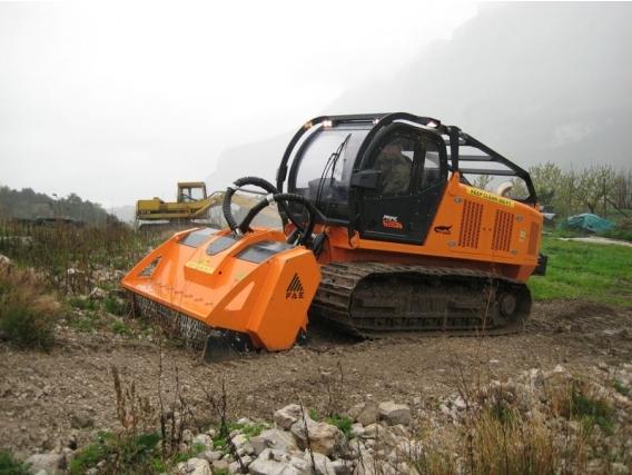 Trituradora De Rocas Fae 500Rc