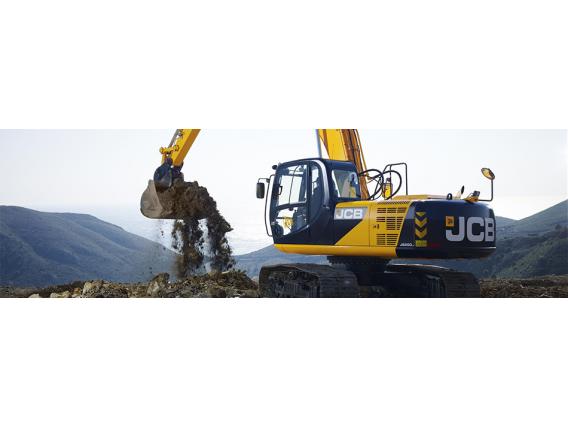Excavadora Sobre Oruga Jcb Js205Lc