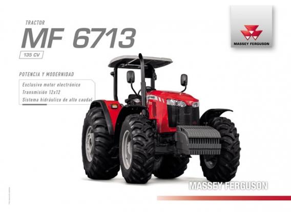 Tractor Massey Ferguson MF 6713