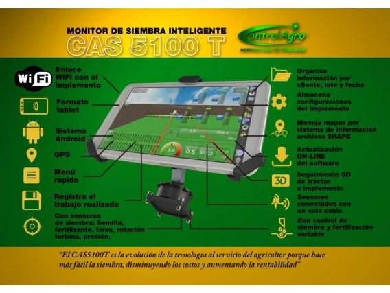Monitor De Siembra Inteligente Controlagro Cas 5100 T