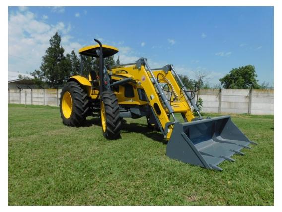 Pala Cargadora OM-600-F Euro Base. P/tractor Pauny 210