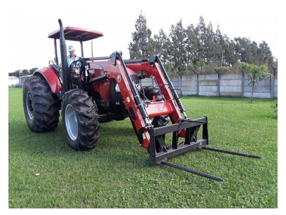 Pala Cargadora OM-600-F Euro Base Para Tractor Case 120