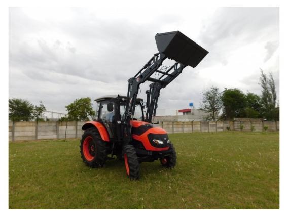 Pala Frontal Hidráulica OM-260. P/tractor Hanomag Tr 85