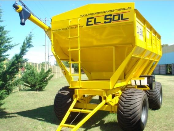 Tolva El Sol Fertilizante o Semilla 20 Tn