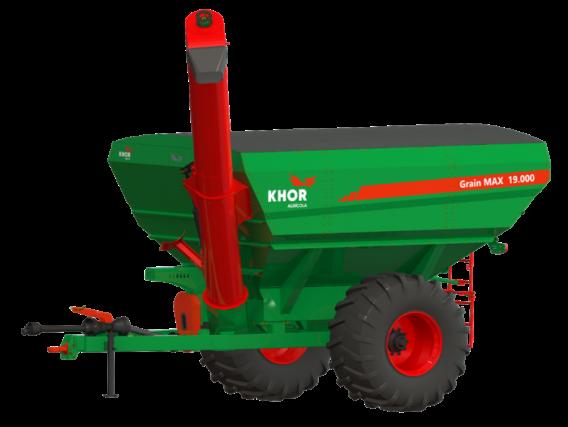 Tolva Kuhn Khor Grain Max 19000