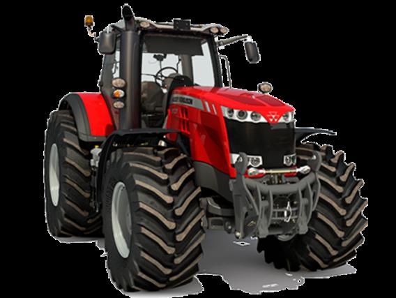 Tractor Massey Ferguson MF 8737 S DYNA-VT