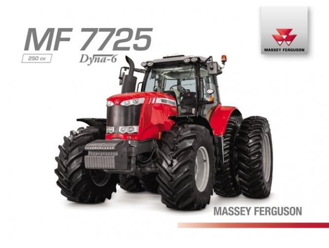Tractor Massey Ferguson MF 7725 Dyna-6